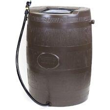 Rain Water Barrel Outdoor Garden Yard 45 Gallon Storage Plastic Container Tank
