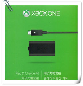 XB1 MICROSOFT XBOX ONE Play & Charge Kit original bulk pack