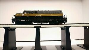 AHM HO Train Monon EMD BL-2 Powered Diesel Locomotive