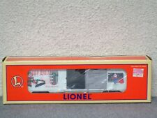 NIB Lionel Toy Trains Christmas freight boxcar 027 gauge 1997 Happy... #6-16272