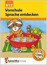 NEU: Übungsheft für Kinder ab 5 Jahren (Vorschule) - Buchstaben und Wortschatz