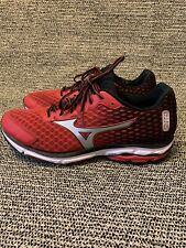 Mizuno Wave Rider 18 Red/Black Men's Athletic Running Shoes Size 13