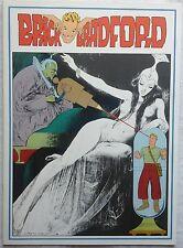 BRICK BRADFORD tavole domenicali a colori collana gertie daily 79 comic art 1979