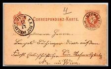 GP GOLDPATH: AUSTRIA POSTAL CARD 1881 _CV776_P07