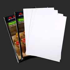 100 Sheets A4 Size Glossy Quality Photo Paper High Quality For Inkjet Printers
