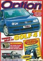 Magazine Option auto N° 86 decembre 1997
