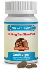 复方丹參片Fu Fang Dan Shen Pian(Cardiovigor™)100 mg 100 Tablets