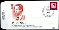 (B) 1986 FDC 1980 - 50ste verjaardag van Z.M. Koning Boudewijn.