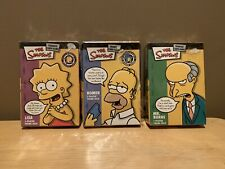 THE SIMPSONS TRADING CARD GAME -- SET OF 3-THEMED DECKS -- BRAND NEW / SEALED!!!