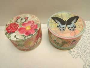 New Punch Studio Set of Gift Boxed Scented Soaps- Rose & Jasmine Scents 5 oz