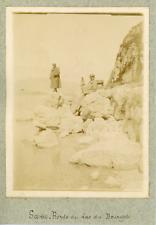 France, Savoie, Bords du Lac du Bourget, ca.1900, vintage citrate print Vintage