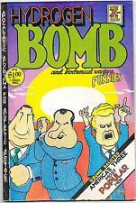 Hydrogen Bomb Funnies 1st printing Rip Off Press 1970 Shelton, Jaxon, Crumb FN-
