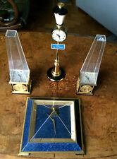 EXCEPTIONNEL ENSEMBLE PENDULES JAEGER LECOULTRE CLOCK SET