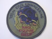 USAF PATCH -  155th CIVIL ENGINEERING SQUADRON SUBDUED : KY18-1