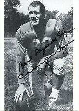 Cloyce Box: Deceased Lions All Pro Receiver: Photo Autographed