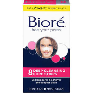 Biore Deep Cleansing Pore Strip 8ct