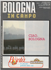 England World Cup 1990 Italy BOLOGNA in campo brochure/programme