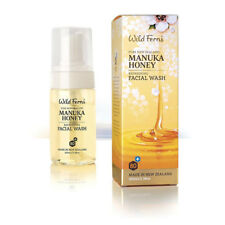 Wild Ferns Manuka Honey Refreshing Facial Wash 80 100ml - Paraben