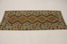 Exclusivamente Amme Colección Nómadas Kelim Alfombra Persa Oriental 2,83 X 1,12