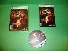 Resident Evil 5 (Microsoft Xbox 360, 2009)