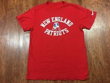Men's Nike New England Patriots Vintage Red Old School Logo Shirt Size Small?