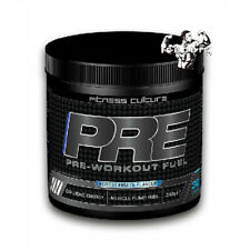 Fitness Culture PRE WORKOUT - Forest Fruits Flavour - EXPLOSIVE ENERGY - 360g