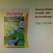 Oscorna - Baum-, Strauch- und Heckendünger 10,5 kg - Dünger Humus Strauchdünger