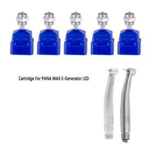 5PC Dental Turbine Cartridge Rotor Fit NSK PANA MAX E-Generator LED Handpiece
