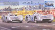 1954a Mercedes Benz W196 optimizada, Reims F1 Cubierta firmado Leslie Marr