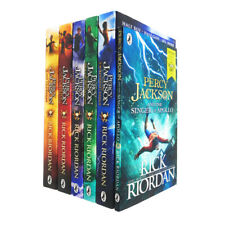 Percy Jackson 6 Books Collection Set With World Book Day Singer of Apollo
