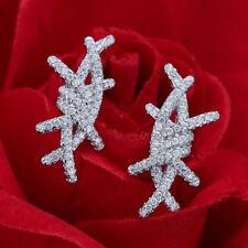 Bling Bling Cluster Stud Earrings Handmade Jewellery