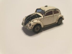 RARE Husky No 3B-4 Volswagen Beetle Police Car made in the 1960s