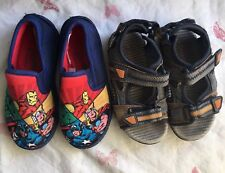 Boys Slippers And Sandals Infants Size 9