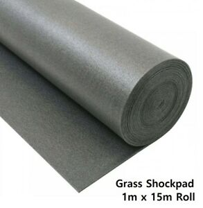 GrassLay™ Artificial Grass Shockpad Underlay (1m x 15m) 15m² Roll
