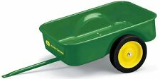 ERTL John Deere Pedal Tractor *TRAILER* Wagon *MADE OF STEEL!* *BRAND NEW!!*