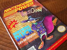 Nintendo Power #36 - Darkwing Duck (with Krusty's Fun House poster) / nes