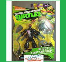 Robotic Foot Soldier : Mutant Teenage Mutant Ninja Turtles Basic Action Figures