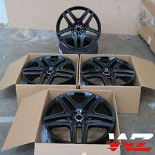 "22"" Black Wheels For Mercedes GL550 R350 R500 ML350 ML500 ML550 Rims Set Of (4)"