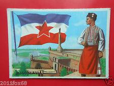 figurines cromos cards figurine sidam gli stati del mondo 72 jugoslavia bandiere