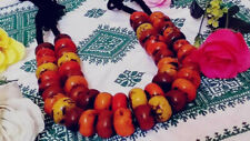 african jewelry tribal berber beads 2 Moroccan amber resin necklaces handmade