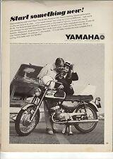 Original 1967 Yamaha Bonanza 180 Motorcycle Magazine Ad