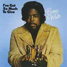 Barry White-I've Got So Much to Give  (US IMPORT)  CD NEW