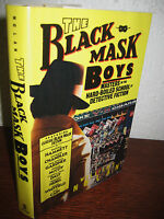 The Black Mask Boys William J. Nolan SIGNED 1st Edition Mystery Detective Crime