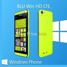 Blu Win HD LTE X150Q Unlocked Dual SIM 8MP Window Unlocked Phone Yellow Open Box