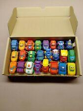 Tonka Lil Chuck Playskool Rubber Vehicles Lot Of 21