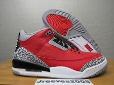 DS Jordan Retro 3 SE - UNITE - Sz 10 100% Authentic III Fire Red CK5692 600