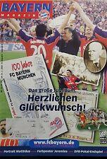 1999/00 1.Bundesliga FC Bayern München - Eintracht Frankfurt