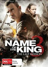 In The Name of The King 3 : THE LAST MISSION : NEW DVD