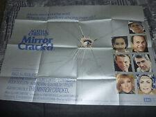 The Mirror Cracked UK Quad Poster. Agatha Christie, Rock Hudson, Tony Curtis