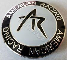 American Racing 1242100S Snap In Wheel Rim AR Center Cap New